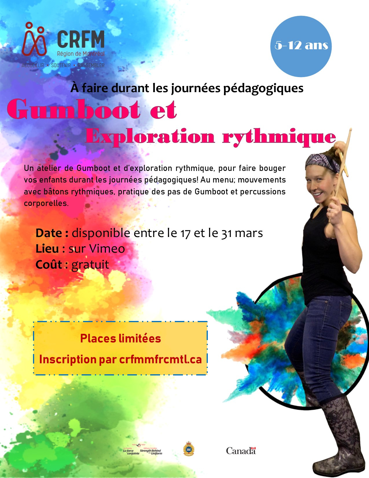 Gumboot and rhythmic exploration (FR)